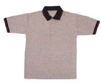 Pique polo pattern-tipping(210 GSM) T-Shirt