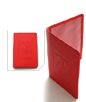 Ferrari Passport Holder