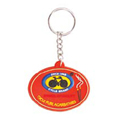 SILICON RUBBER KEY RING - STANDARD